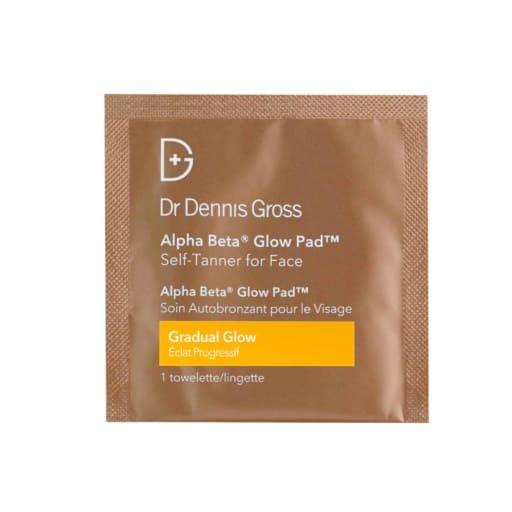Dr Dennis Gross Alpha Beta Glow Pad For Face Treatments Gradual Glow