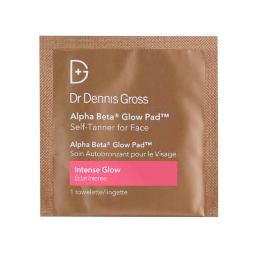 Dr Dennis Gross Alpha Beta Glow Pad For Face Treatments Intense Glow