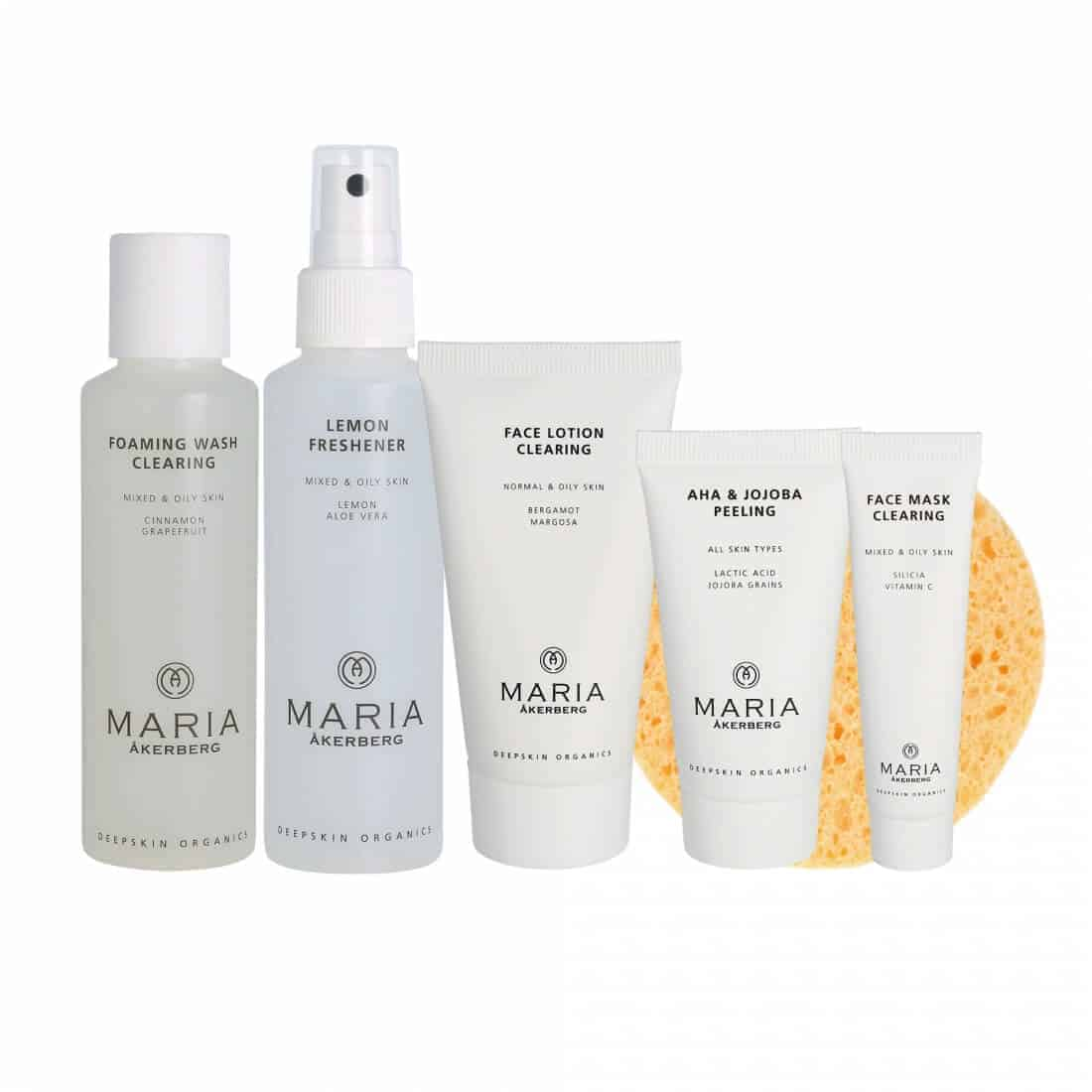 maria akerberg beauty starter set clearing