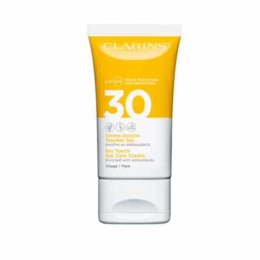 clarins dry touch sun care cream_spf_30