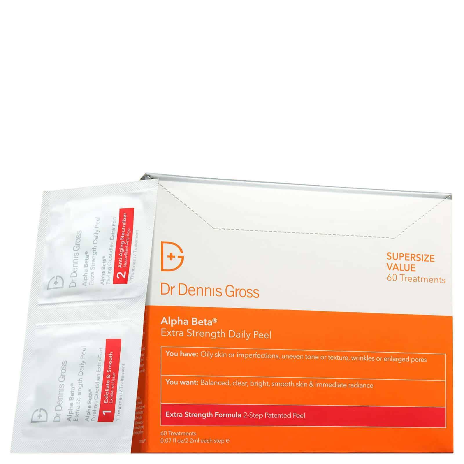 dr dennis gross Extra strenght daily peel - Dr Dennis Gross STORA Peelingkampanj!