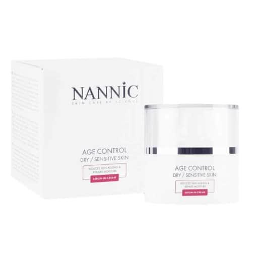 nannic age control dry sensitive skin