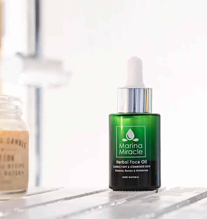 Herbal fr Hasse - Tävling! Vinn rengöring och face oil från Marina Miracle