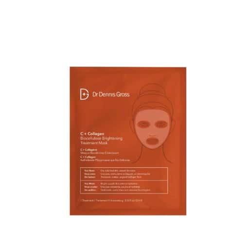 Dr Dennis Gross C + Collagen Biocellulose Brightening Treatment Mask