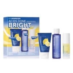 Ole Henrisken Acids Done Bright Smoothing Skincare Set