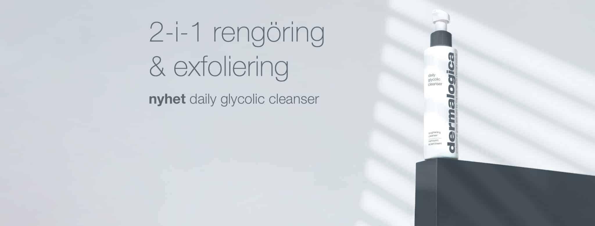 Dermalogica Daily Glycolic Cleanser desktop banner